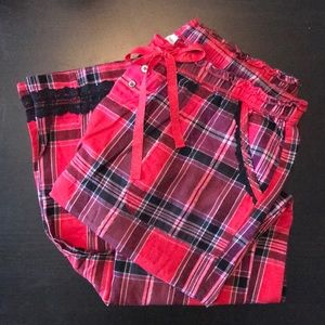 Victoria's Secret Intimates & Sleepwear - VS flannel pj pants